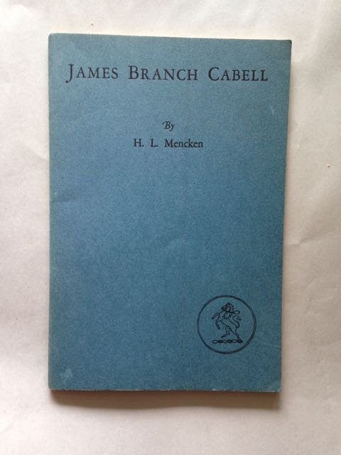 Image for James Branch Cabell