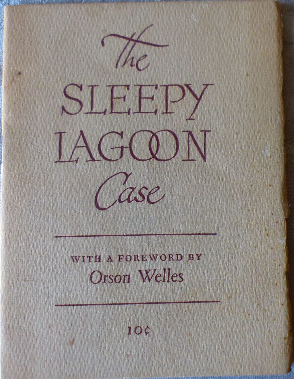 The Sleepy Lagoon Case