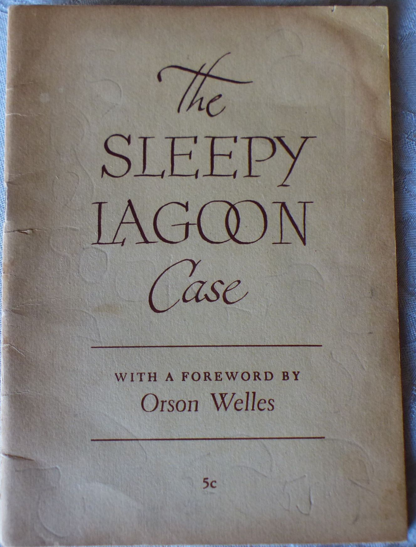 Image for The Sleepy Lagoon Case