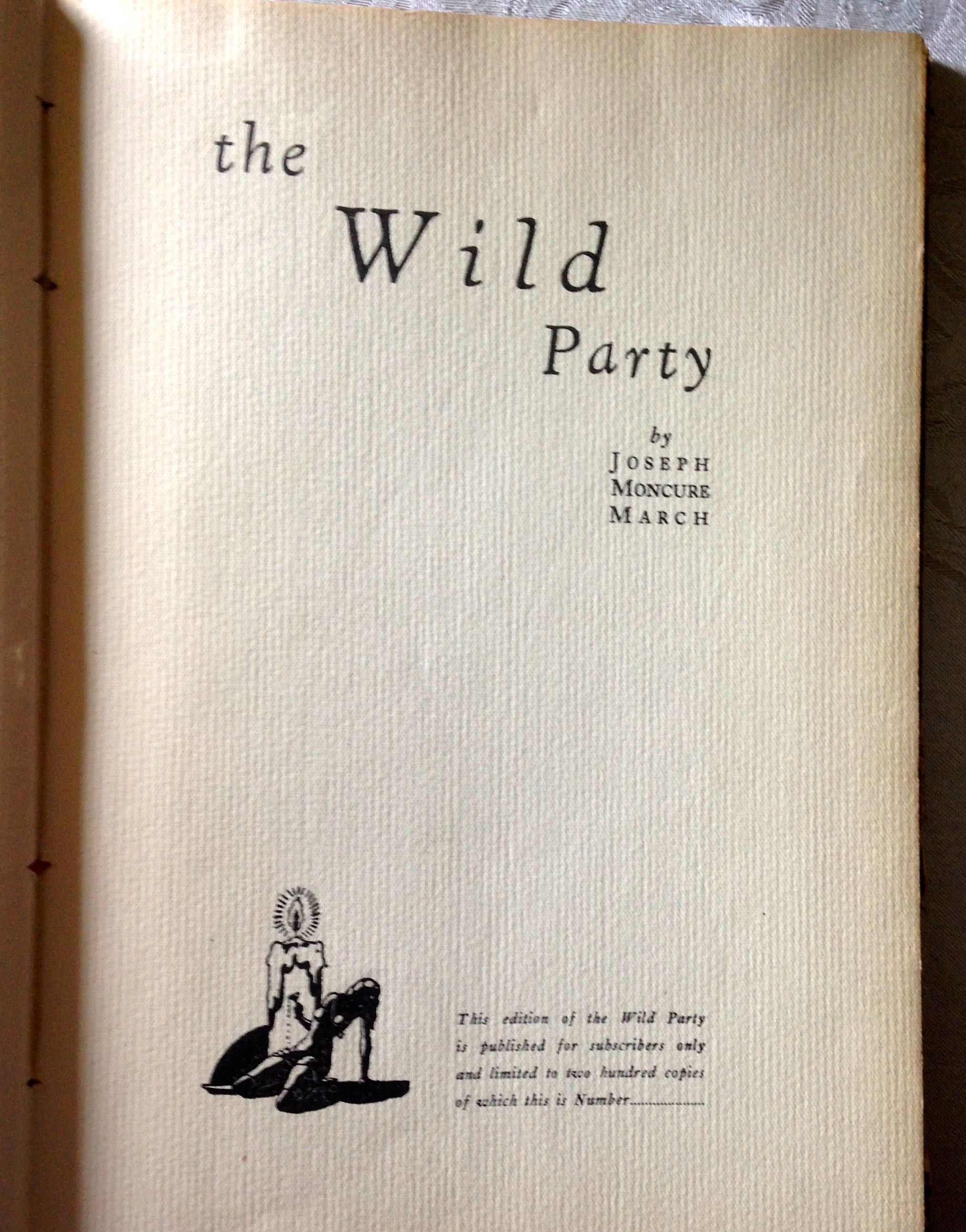 Image for The Wild Party