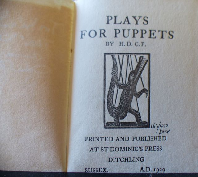 Image for Plays for Puppets