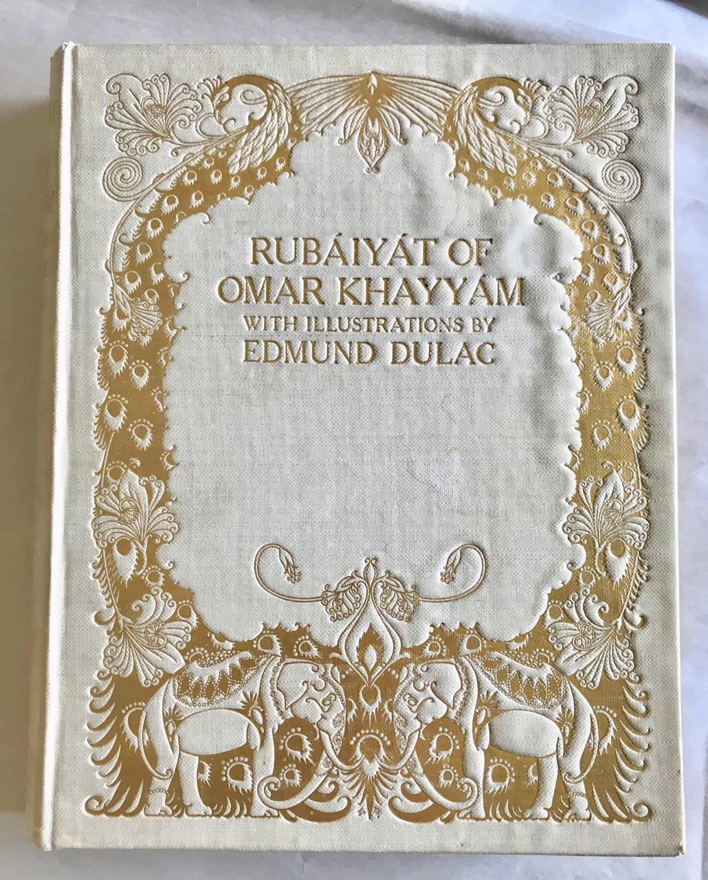 Image for The Rubaiyat of Omar Khayyam. Translated into English Verse by Edward Fitzgerald. With Illustrations by Edmund Dulac.