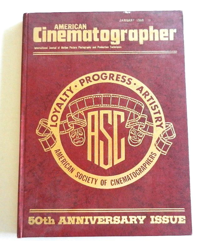 Image for American Cinematographer - 50th Anniversary Issue, January 1969