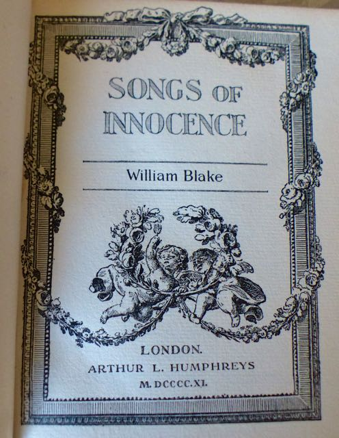 Songs of Innocence & Songs of Experience