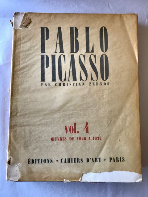 Image for 'Pablo Picasso - L'Ouvre par Christian Zervos,' First editions of Vols 1-5 & 7-9.
