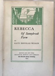 Image for Rebecca of Sunnybrook Farm (both variants of 1st ed.)