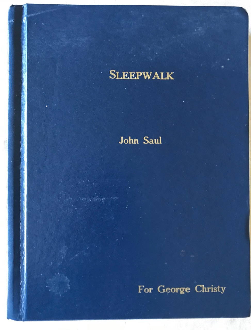 Image for Sleepwalk [Limited, signed hardbound edition]