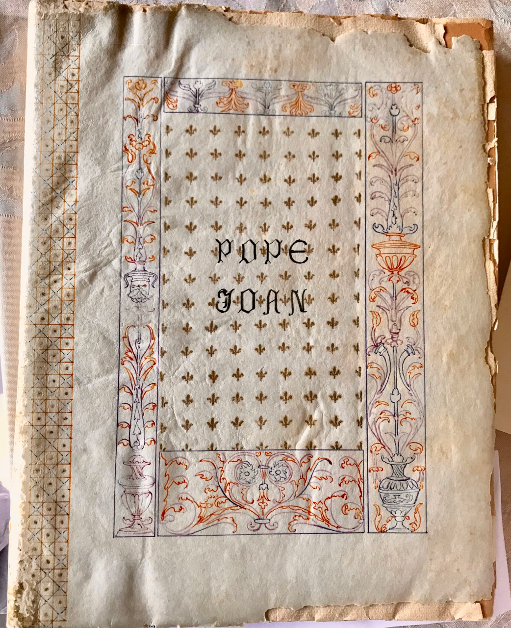 "Image for Illuminated Manuscript: Pope Joan / A Historical Text based upon ""Bower's History of the Popes [1748]"" /"