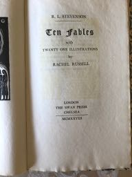 Image for Ten Fables