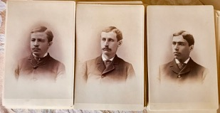 Image for Cabinet Cards - 50 sepia toned photographs of New York businessmen. 1877-1881