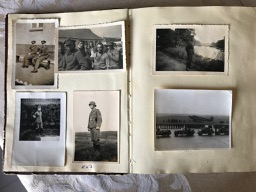 Image for Second World War - German Soldier's travelogue photo album. 92 photos; 1943-45.