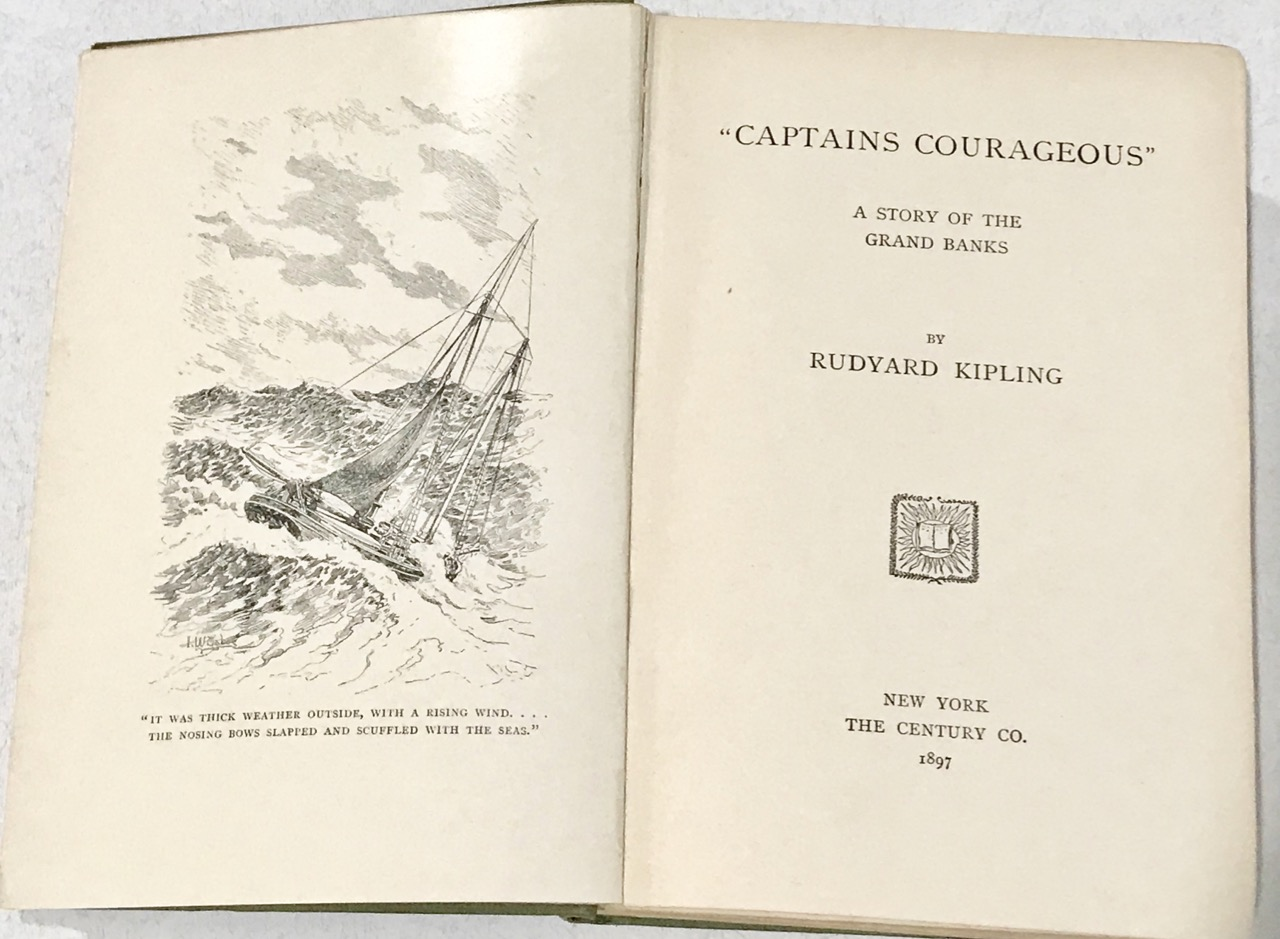 Image for Captains Courageous  / A Story of the Grand Banks