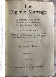 Image for Eugenic Marriage, The. Volumes I-IV Complete