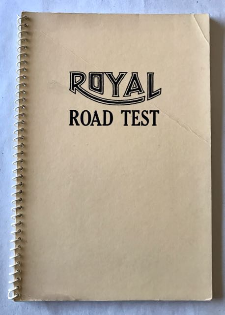 Image for Royal Road Test