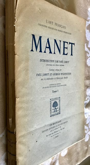Image for Manet / Manet. Introduction critique par Paul Jamot. Catalogue Critique par Paul Jamot et Georges Wildenstein, avec la collaboration de Marie-Louise Bataille. ... en quatre cents quatre-vingts phototypies.