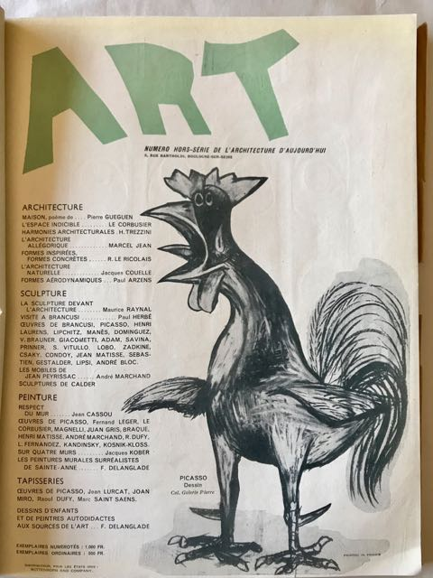 Image for Art, Numero Hors-Serie De l'Architecture d'Aujourd'hui  1946 - April 1946 issue of Art, Numero Hors-Serie de l'Architecture d'Aujourd'hui;