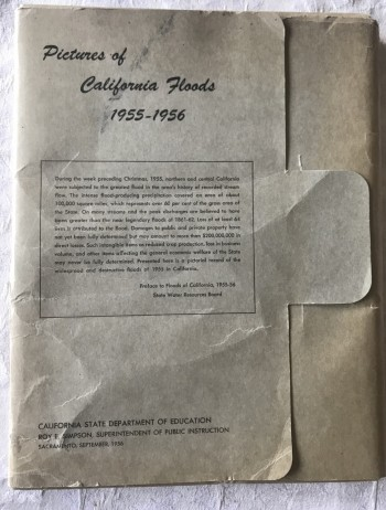 Image for Pictures of California Floods 1955 - 1956 [portfolio]