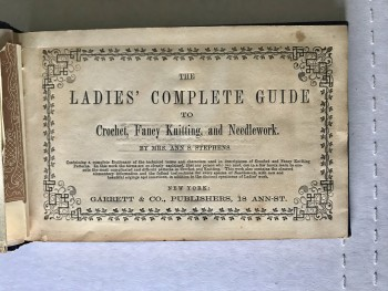 Image for The Complete Ladies' Guide to Crochet, Fancy Knitting, and Needlework