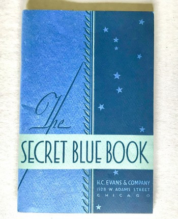 Image for The Secret Blue Book, 1932 ed.