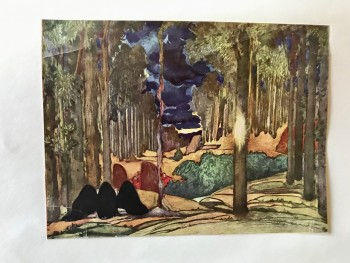 Image for Bakst. Original Publisher's mock-up for an unpublished sequel to the 1922 Brentano monograph on Leon Bakst -- with 29 tipped-in color plates.