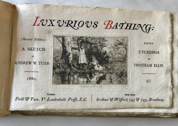 Image for Luxurious Bathing: A Sketch