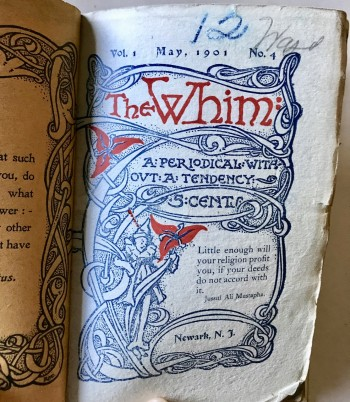 Image for The Whim: A Periodical without a Tendency. Vol 1 Nos. 1-6