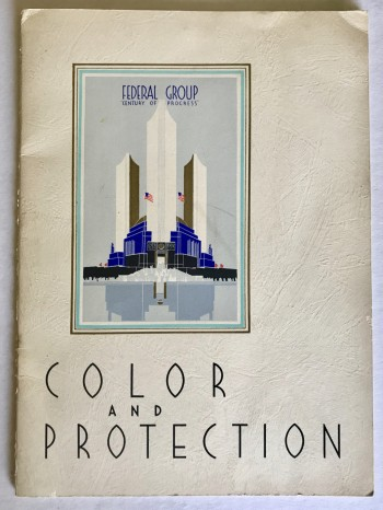 "Image for Progress In Industrial Color And Protection At ""A Century Of Progress"""