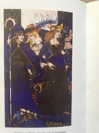 Image for Queens. Containing Nine Plates of illustrations by Harry Clarke.
