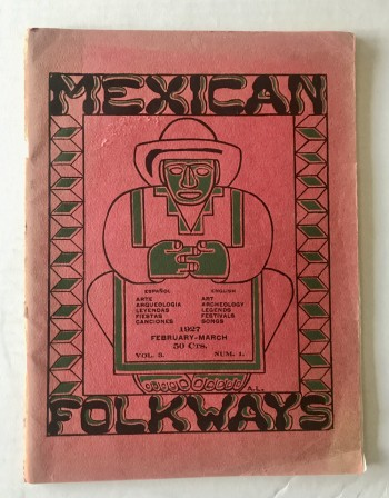 Image for Mexican Folkways magazine. Vol 3. No. 1, Feb-Mar 1927