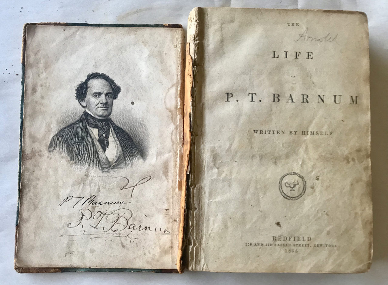Image for The Life of P.T. Barnum / Written by Himself. [Signed copy]