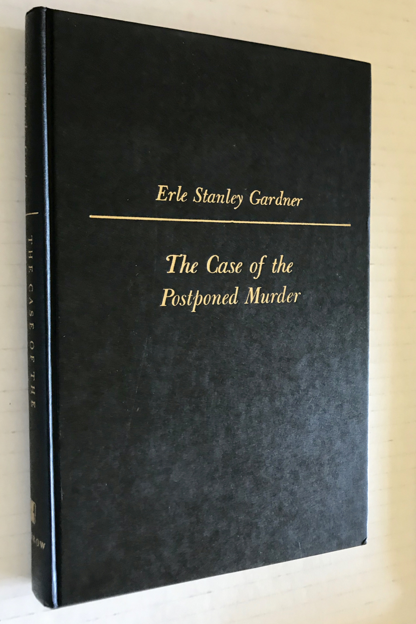 Image for The Case of the Postponed Murder a Perry Mason Mystery / A New Perry Mason Novel