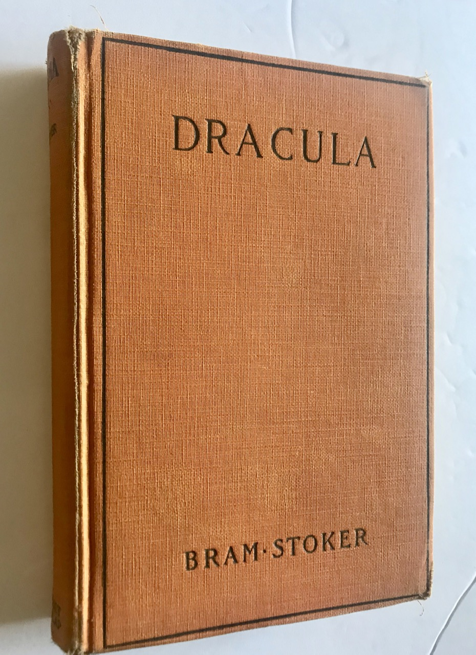 Image for DRACULA [First Grosset Edition]