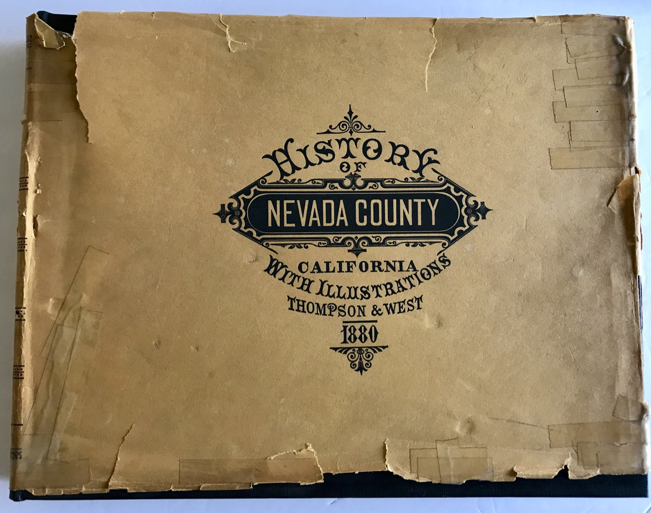 Image for History of Nevada County California With Illustrations 1880 [facsimile edition]