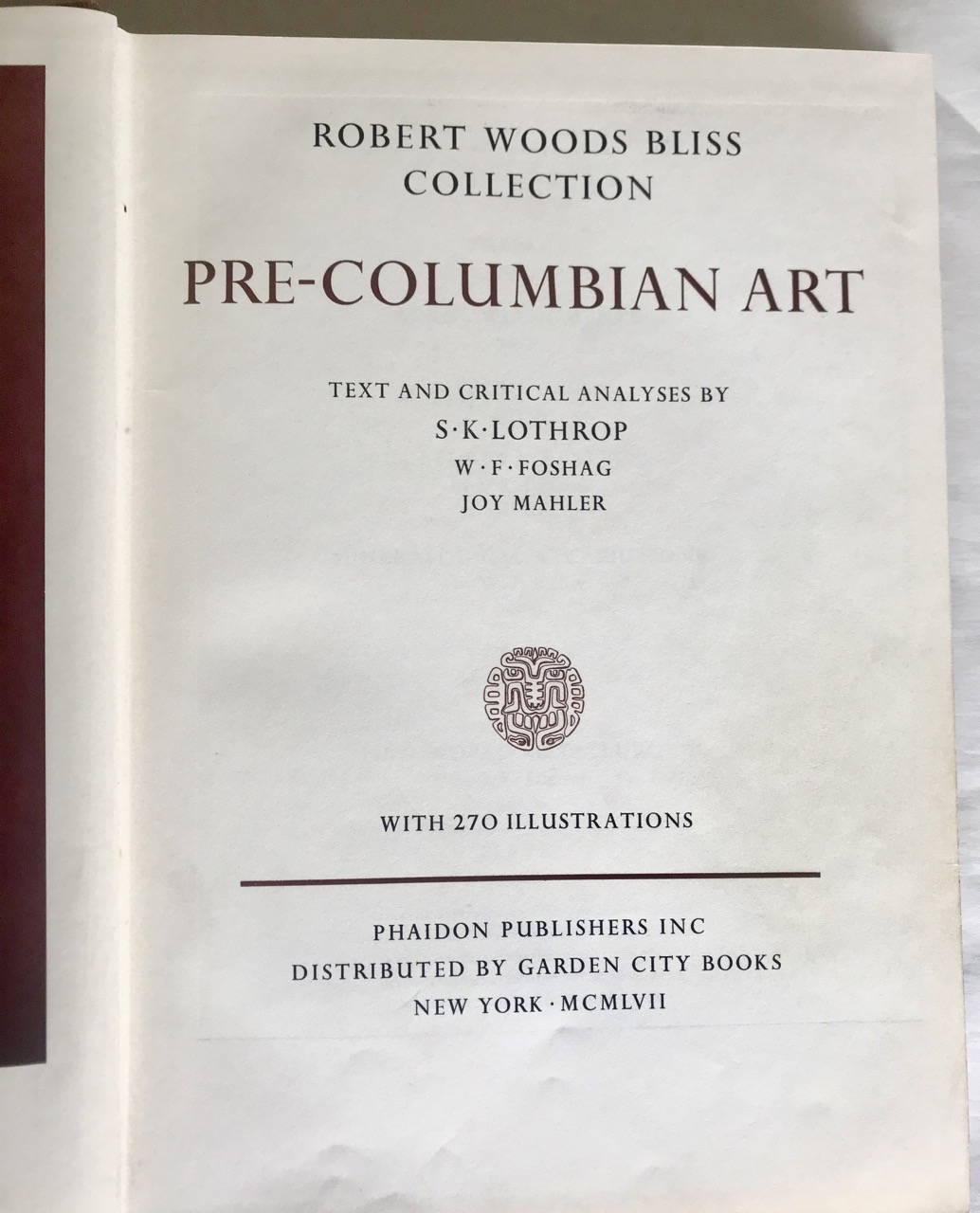 Image for Robert Woods Bliss Collection Pre-Columbian Art - Signed Presentation Copy No. 1