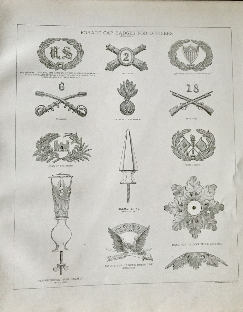 Image for Regulations for the Uniform of the Army of the United States (1888)