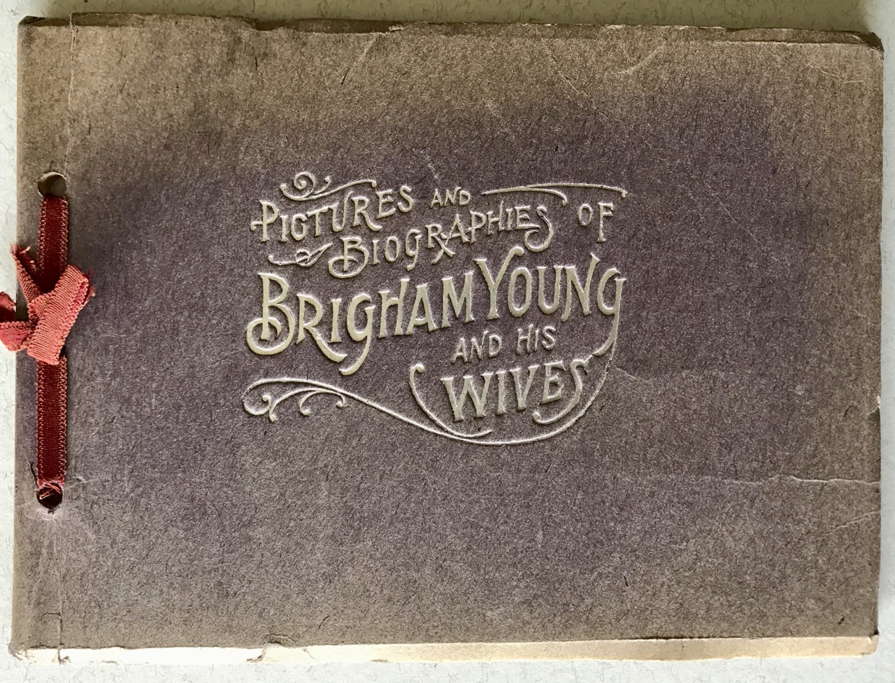 Image for PICTURES AND BIOGRAPHIES OF BRIGHAM YOUNG AND HIS WIVES