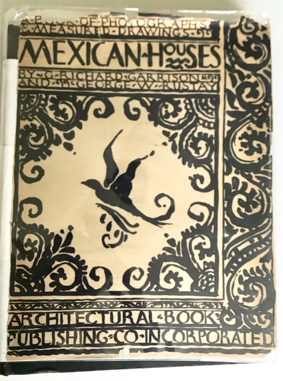 Image for MEXICAN HOUSES a book of photographs & measured drawings - 1st ed., signed by Oscar-winning set designer
