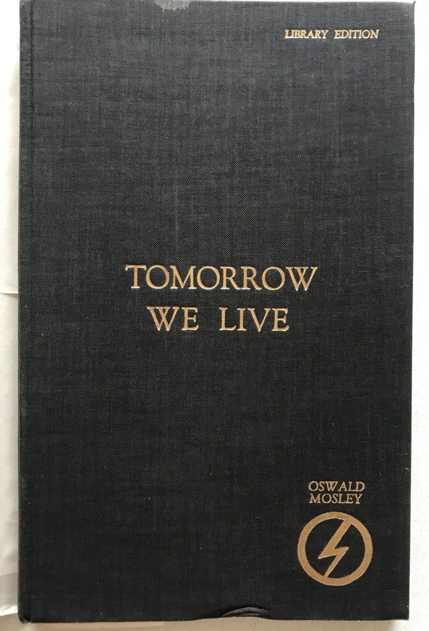 Image for Tomorrow We Live - Library Edition -- in scarce d/w