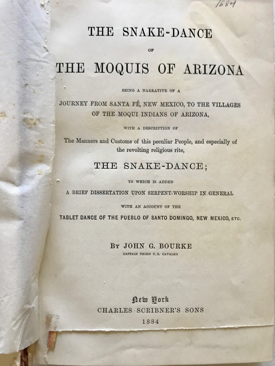 Image for The Snake-Dance of the Moquis of Arizona....