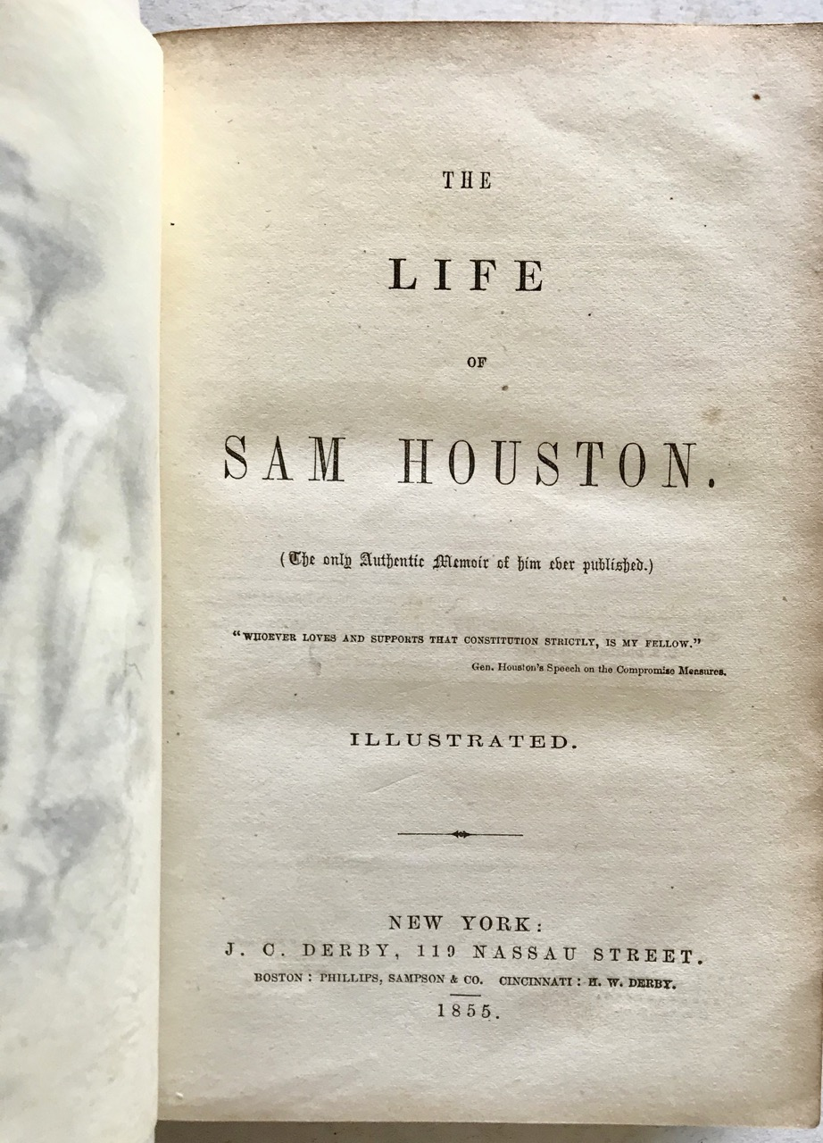 Image for The Life of Sam Houston