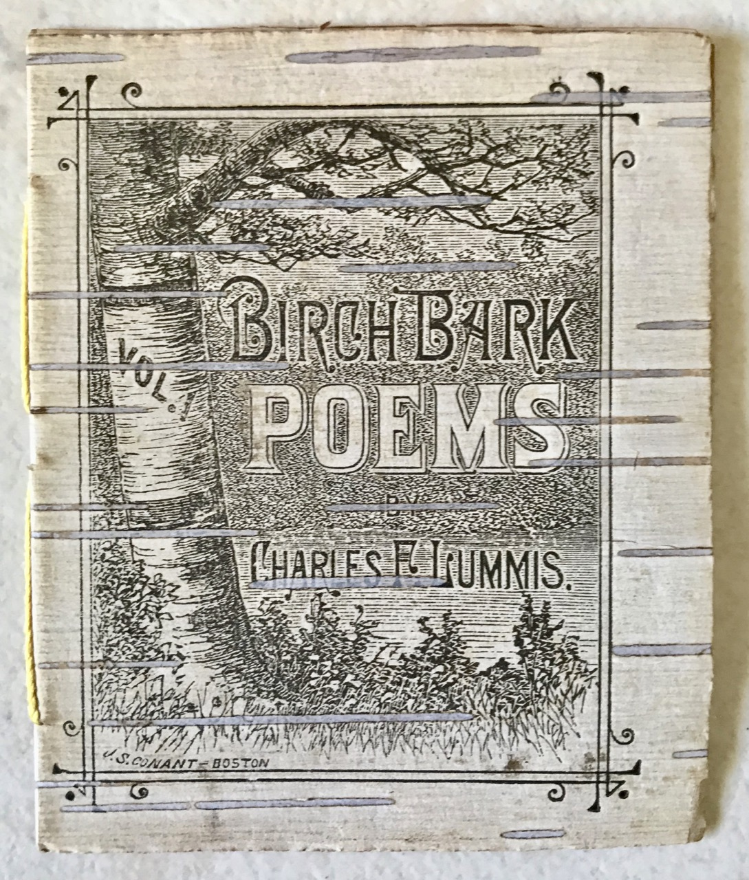 Image for Birch Bark Poems, Vol. 1.