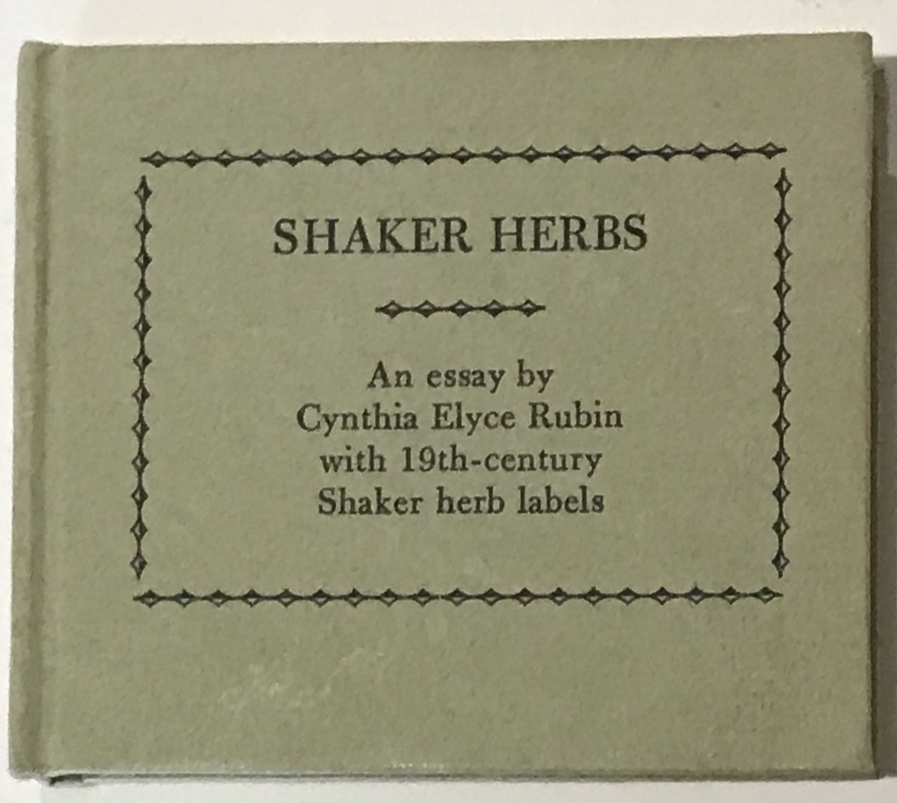 Image for Shaker Herbs. [Miniature Book, Ltd to 155 copies]