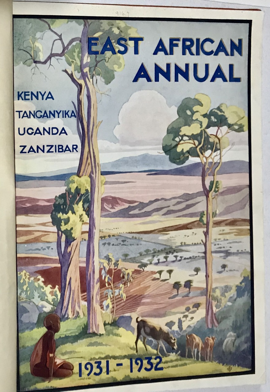 Image for East African Annual 1931-32.