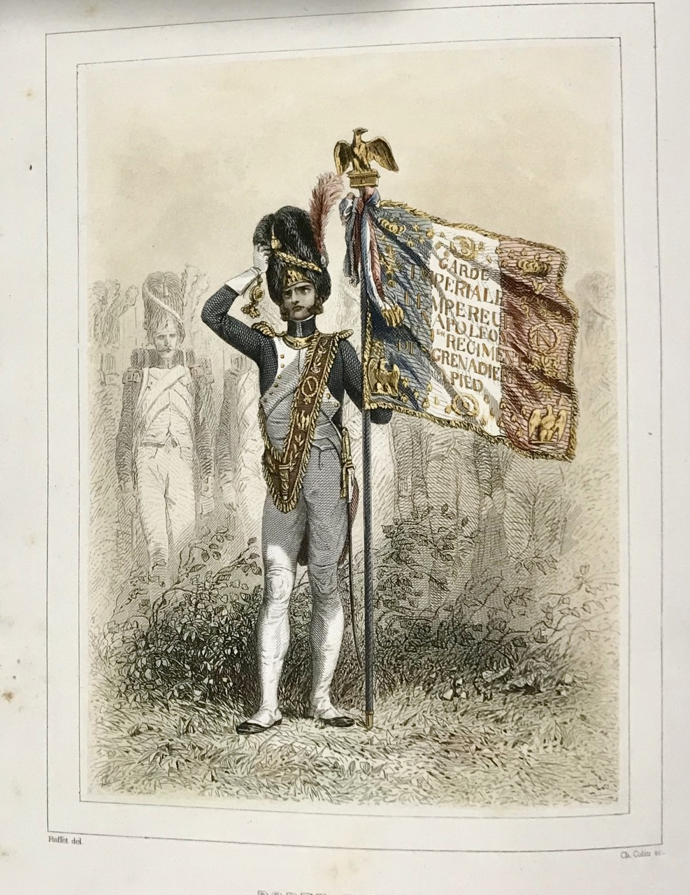 Image for Napoleon 1er et la Garde Imperiale. [Costumes Of The French Militaire.]