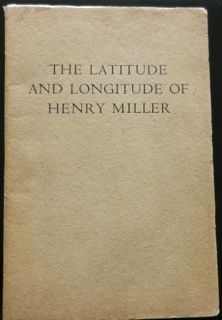 Image for The Latitude and Longitude of Henry Miller