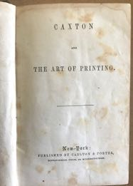 Image for Caxton and the Art of Printing