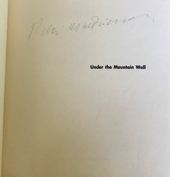 Image for Under the 1st ed. Wall. 1st issue, second state. [Signed]