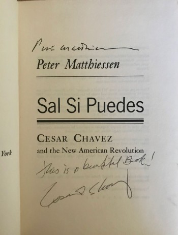 Image for Sal Si Puedes [Signed by both PM and Cesar Chavez]