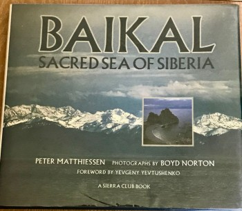 Image for Baikal - Sacred Sea Of Siberia [signed copy]