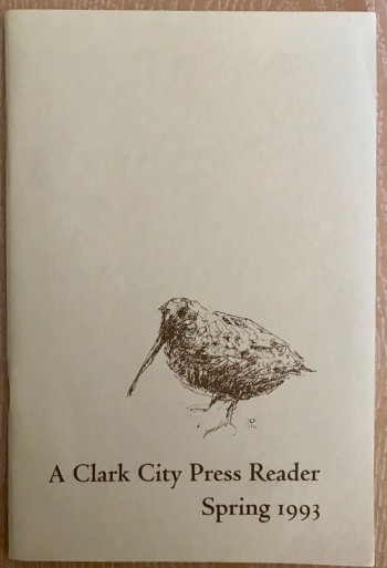"Image for A Clark City Press Reader/Spring 1993. ""Red and Blue Days / Writings on the American West"" [signed copy]"